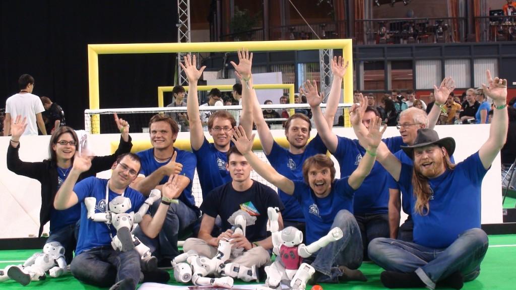 Teamfoto RoboCup 2013
