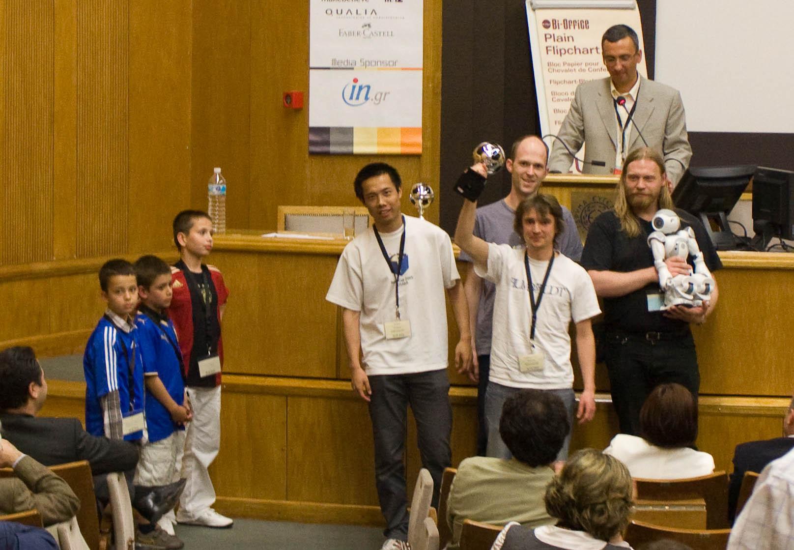SETN2010 Siegerehrung